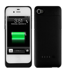 1900mAh External Battery Charger Case for iphone 4 4S Backup Charger Rechargeable Quick Charging Lithium Battery Cover Charger