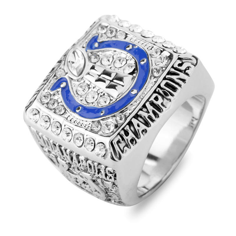 NFL 2006 2007 Indianapolis Colts Super Bowl Championship Rings American Football World Champion Ring Men Classic Wedding Bands(China (Mainland))