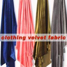 "Silk Velvet Fabric Velour Fabric Pleuche Fabric Clothing Evening Dress Luxury Designer Apparel Home Upholstery 60"" Wide BTY(China (Mainland))"