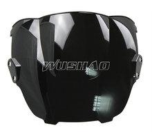 Buy Motorcycle Double Bubble Windshield WindScreen 1995-1998 Honda CBR600 F3 1996 1997 95 96 97 98 Black for $11.35 in AliExpress store