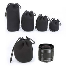 Buy 4pcs /Lot DSLR Camera Lens Bag Waterproof Neoprene Soft Case SLR Camera Lens Pouches Protective Bags Canon Nikon S+M+L+XL for $9.41 in AliExpress store
