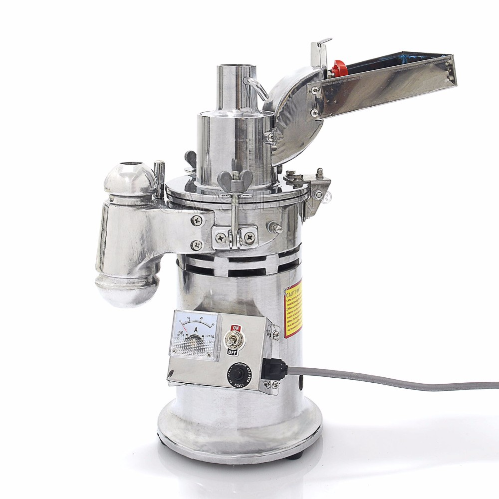 CapsulCN, DF-15 Automatic herb mills for chinese herb, coffee bean, grain 220V