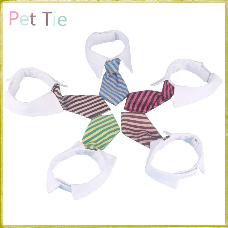 1pcs 2015 Free Shipping 5 Colors New Adjustable Pet dog Cat Die Pet Necklace Collar Bow Tie Dog Accessories Products#2(China (Mainland))