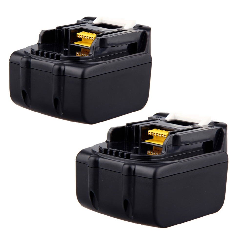 2x high power 4500mah 4 5ah 18v lithium ion rechargeable. Black Bedroom Furniture Sets. Home Design Ideas