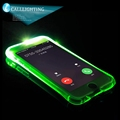 Call Lighting Back Cover Flash Light Glow in the Dark TPU case for iPhone 6 6s