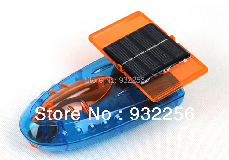 2015 Plastic DIY Kits Solar Powered Boat Solar Toys Educational Mechanical Space Car Christmas Gift For Children(China (Mainland))