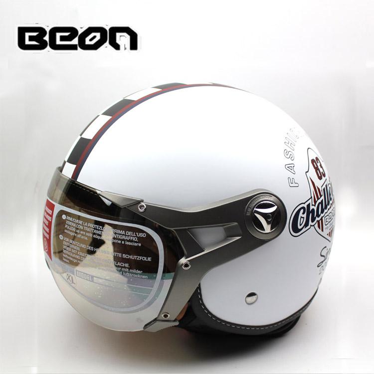 Fashion genuine BEON helmet / half helmet motorcycle helmet / electric car helmet B-100