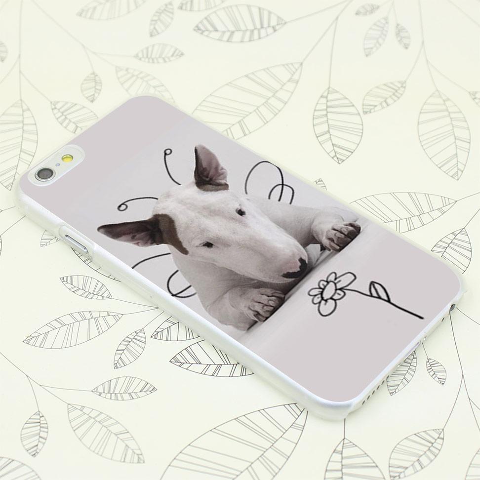 131F bull terrier Hard Transparent Case Cover for iPhone 7 7 Plus 4 4s 5 5s 5c SE 6 6s Plus