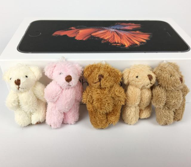 10 шт./лот мини 4 см длинные плюшевые совместное боути супер мило детей игрушки мягкие куклы свадебный подарок для детей BL1162