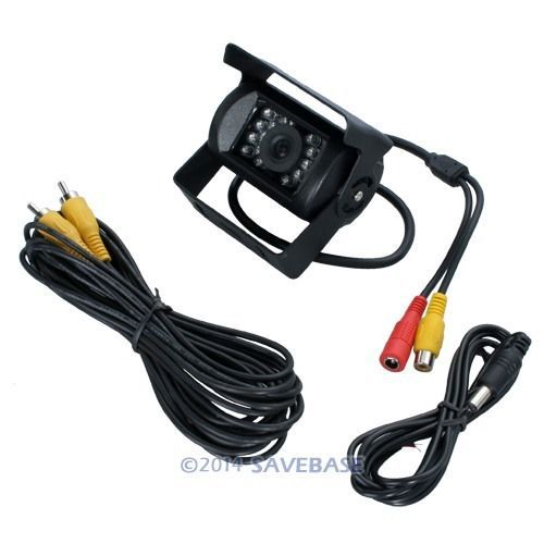 HOMSECUR Brand New CCD Mobile Rear View Back Up Reversing Camera(China (Mainland))