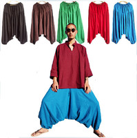 Fashion men's large crotch pants ,harem pants ,plus size sport pants,dancing trousers,casual trousers