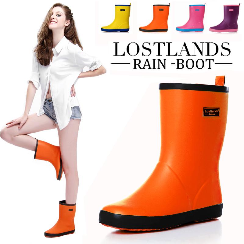 Short Rain Boots Womens
