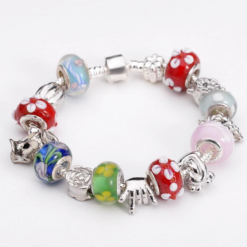 Jewelry charm bracelets wholesale european beads fits bracelets