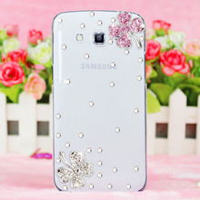 Buy luxury flowers bling diamond rhinestone Crystal protective case shell cover Samsung Galaxy Avant G386T/A7 2016/A5 2016/Z3 for $4.38 in AliExpress store