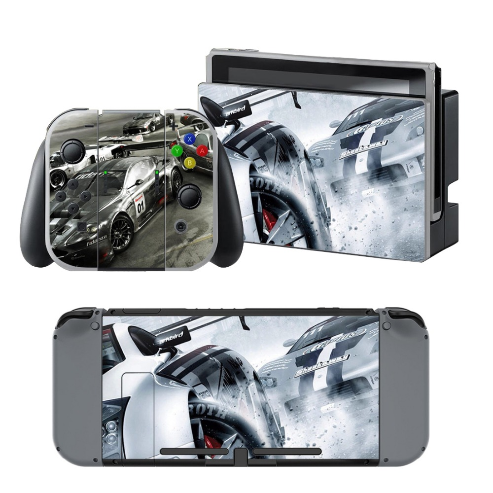 Newly Arrival Vinyl Skin Sticker for Nintendo Switch Console Protector Cover Decal Vinyl Skin for Skins Stickers 0125