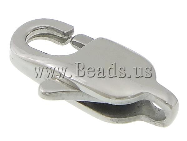 Free shipping!!!Stainless Steel Lobster Claw Clasp,Korea Jewelry, 316L Stainless Steel, oril color, 7x13x3mm, Hole:Approx 1.5mm<br><br>Aliexpress