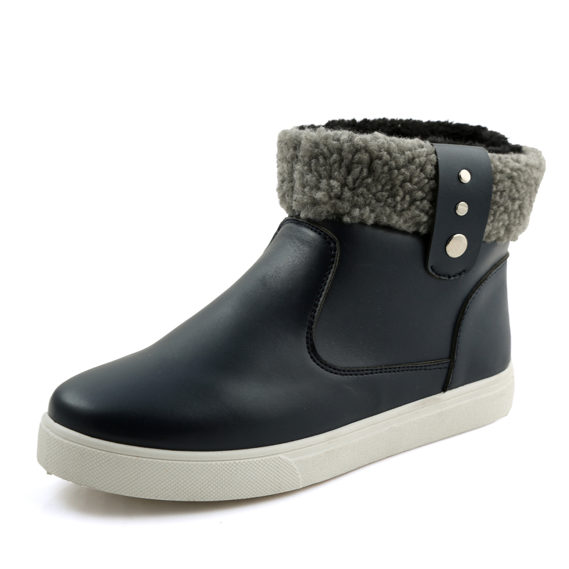 Gallery For gt Warm Rain Boots Men