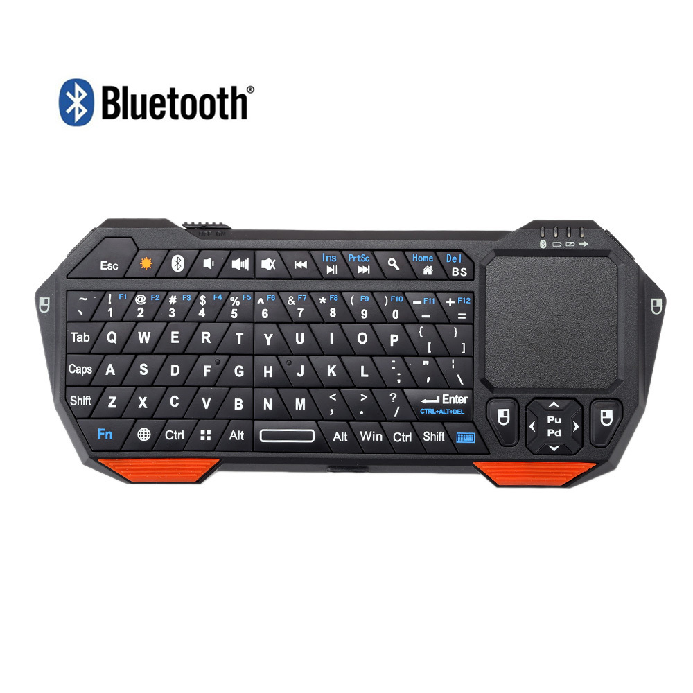 Mini Portable Wireless Bluetooth 3.0 Keyboard with Mouse Touchpad for Windows Android iOS Dsktop Laptop Tablet PC Top Quality(China (Mainland))