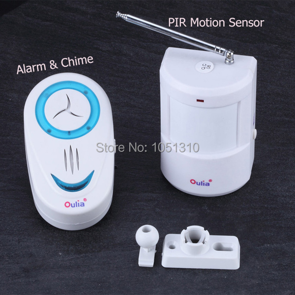 Free Shipping Smart Alarm Systems Security Home Wireless Infrared PIR Motion Sensor Alarm(China (Mainland))