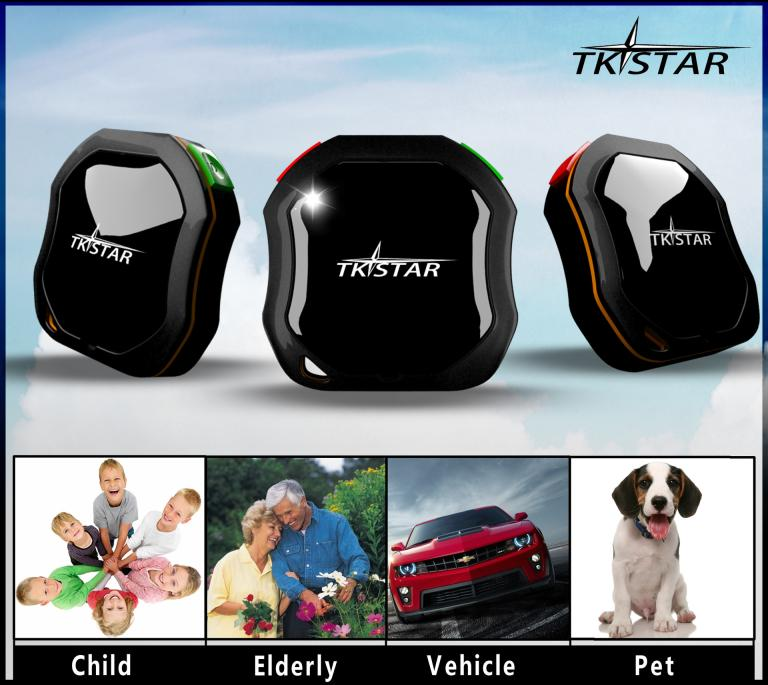 Mini Waterproof GPS Tracker Person Pets Dog Tracking System On Free App GSM AGPS(China (Mainland))