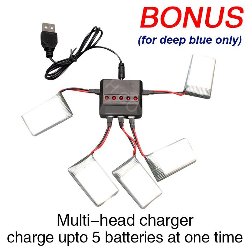 Bonus multihead charger