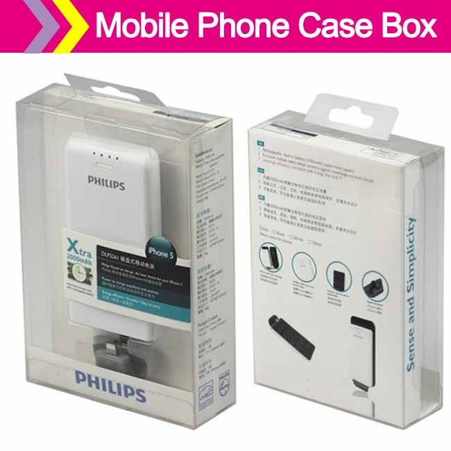 cheap mobile phone case box with hanging