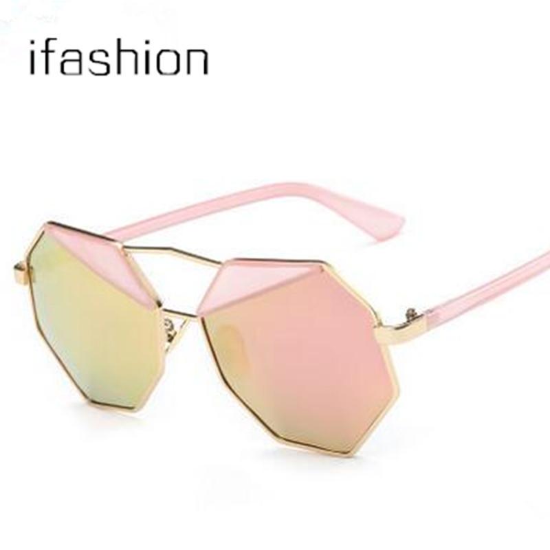 super deal Fashion Women/Men Pilot Sunglasses Polygon Shades Candy Color Big Frame Summer Mirror Sunglasses brand designer metal(China (Mainland))