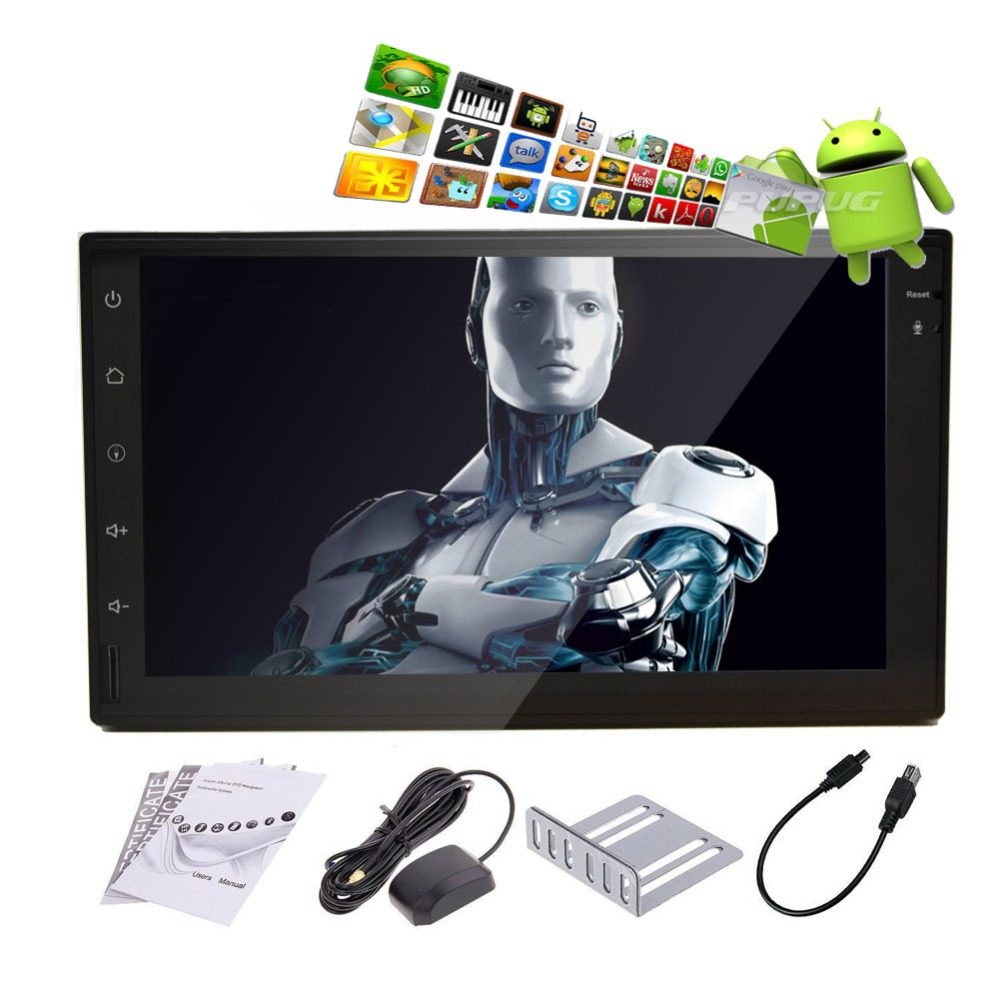 Android 4.2 Capacitive Full Touch Screen GPS Navigation Car No-DVD Player 2Din Stereo Car PC Tablet Bluetooth Ipod FM/AM Radio(China (Mainland))