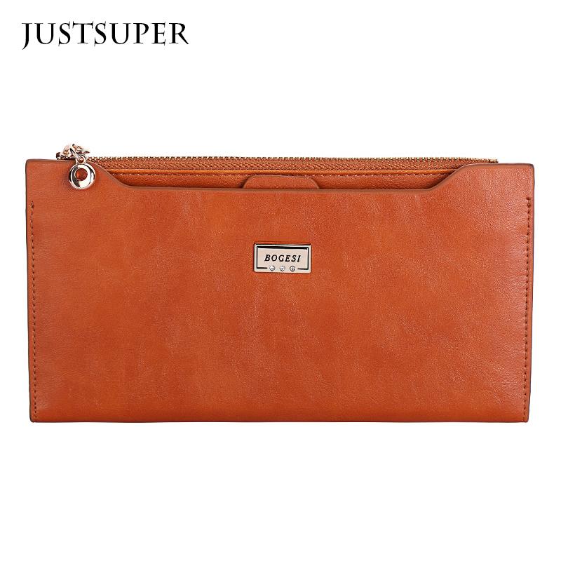 Hot Sale PU Leather Women Wallet 5 Colors Zipper Multifunction Long Wallets Ladies Clutch Handbag Cheap Coin Purse Card Holder<br><br>Aliexpress