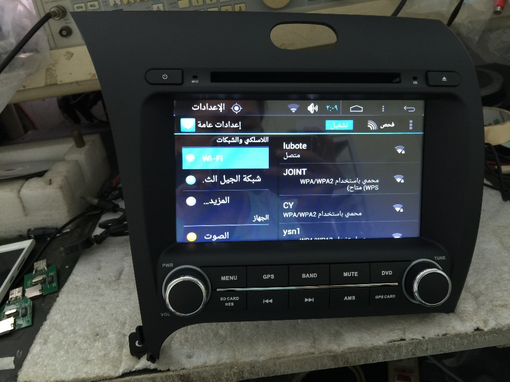 Car dvd car gps player car navigation audio video media system android 4.4 car tablet pc Fit for kia K3 rio /kia forte 2013-2014(China (Mainland))