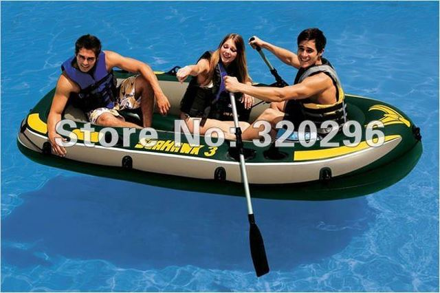 High Quality Intex Seahawk 3 Sets Rubber Dinghy/ INTEX-68349