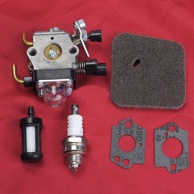 carburetor air fuel filter for stihl fs38 fs45 fs55 fc55. Black Bedroom Furniture Sets. Home Design Ideas