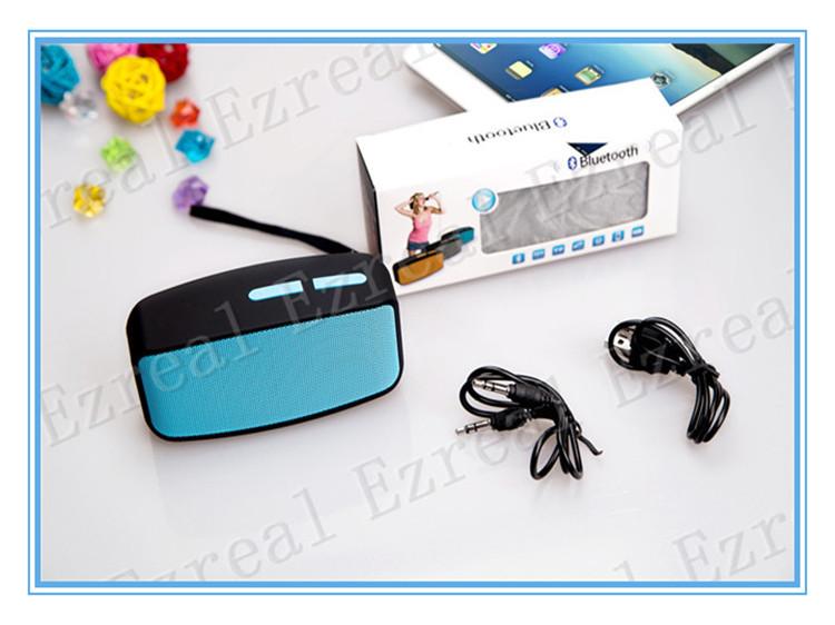 30pcs Fashion Design Wireless Bluetooth Digital Speaker Rectangular Shape Music Player Loudspeaker Box(China (Mainland))