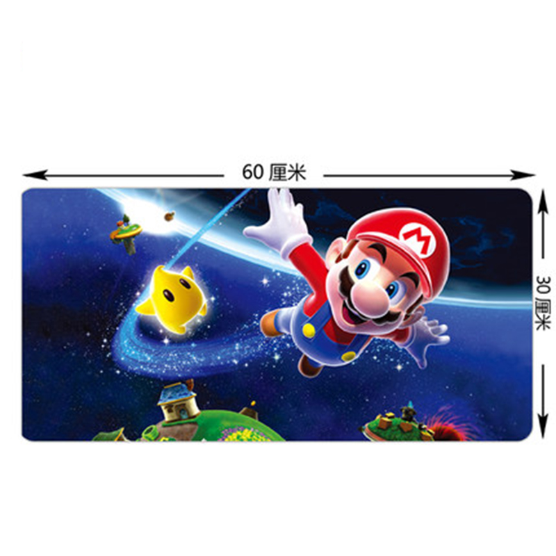 60*30cm Edge stitching durable large Gaming mouse pad L XL Mousepads Gamer keyboard mat accessories LOL Anime Cartoon