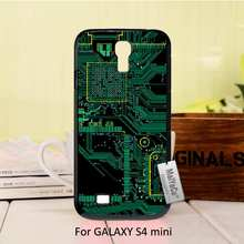 Circuit Board Design computer motherboard Special Offer Luxury Vertical Black phone case For GALAXY s4 mini case(China (Mainland))