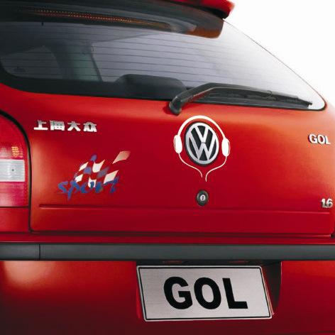 Наклейки SY volkswagen VW GOL sweet years sy 6282l 07