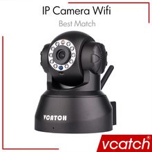 Vcatch Wifi Camera IP Camera Wireless CCTV HD P2P Baby Monitor Security P/T Micro SD Card Camera Free IOS & Android APP