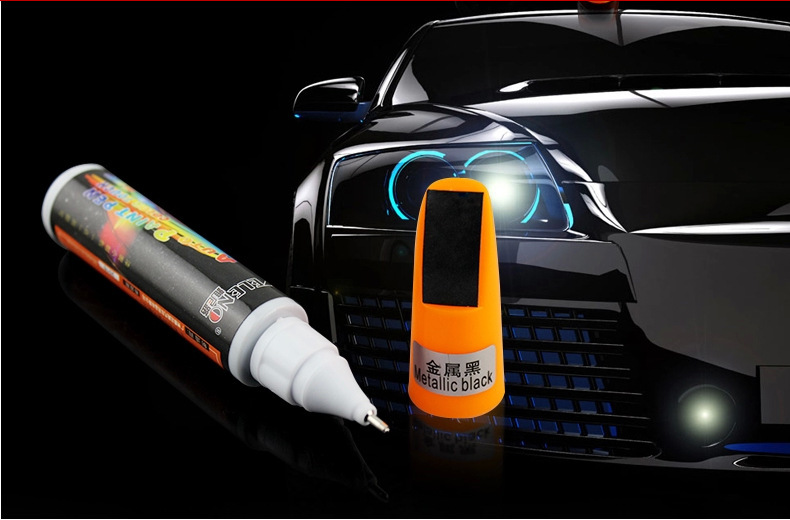 2pc Black Dropshping Fix it PRO Painting Pen Car Scratch Repair for Simoniz Clear Pens Packing car styling car care(China (Mainland))