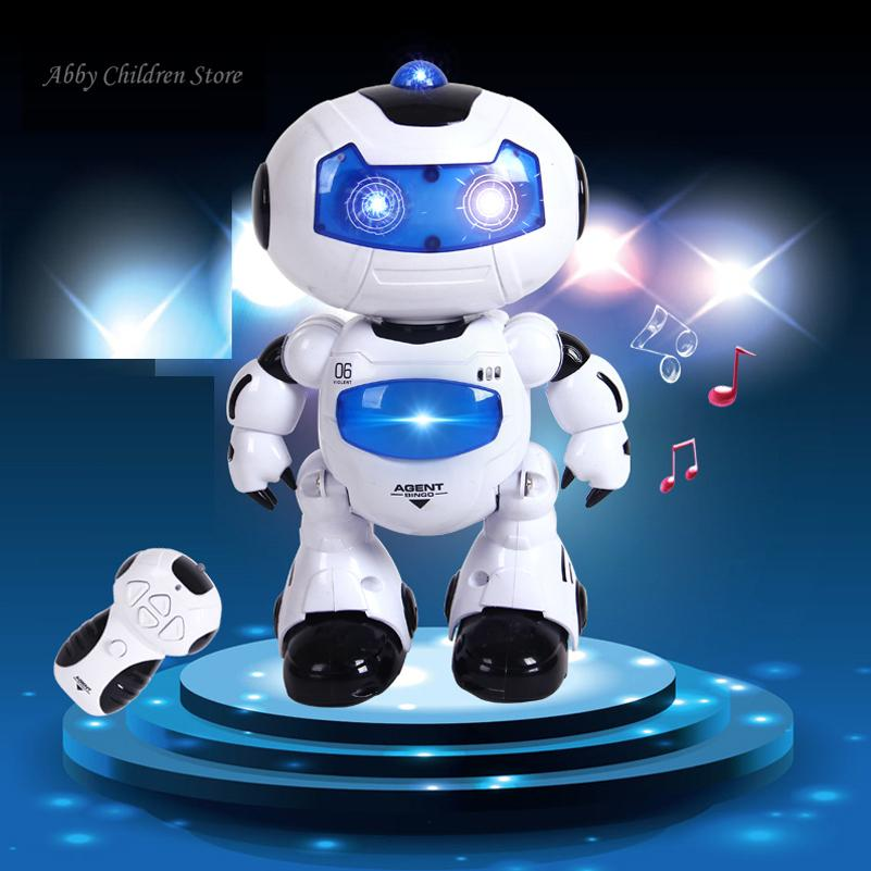 Electronic Toys For Boys : Rc robot toy remote control musical electronic walk