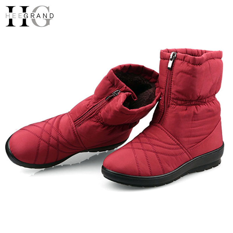 Women Snow Boots 2015 Autumn Winter Casual Waterproof Cotton-padded Ankle Snow Boot Slip-resistant Flat Shoes Woman XWM103(China (Mainland))
