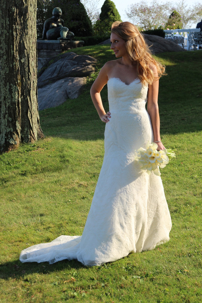 Buy spring lace trumpet bridal dresses for Country style lace wedding dress