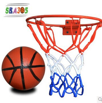 high quality children gifts wall iron materials basketball hoops use screw to install solid rebar durable materials(China (Mainland))