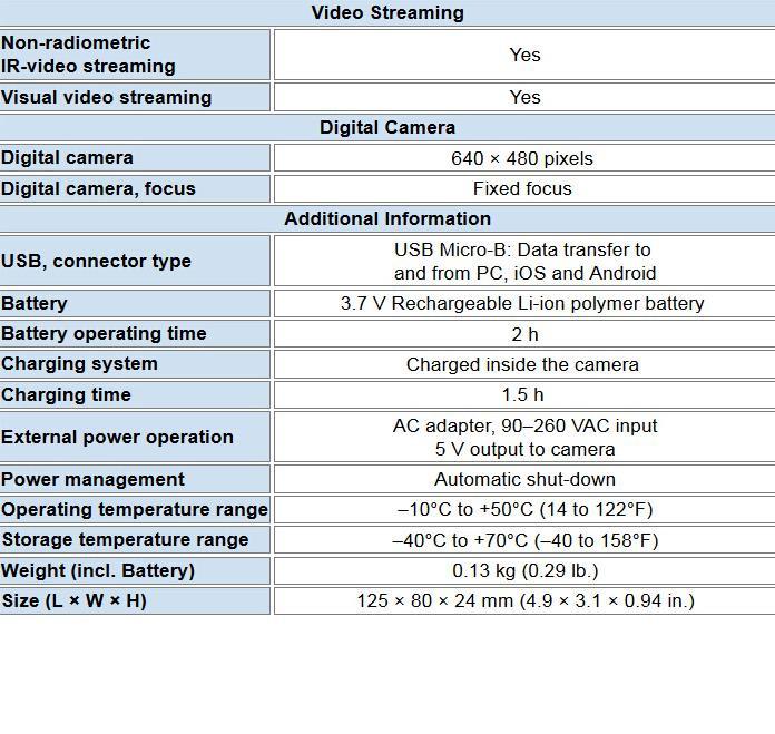 Купить Flir С2 Компактный Тепловизионная Система Тепловизионная Камера, C2 FLIR Инфракрасные Камеры