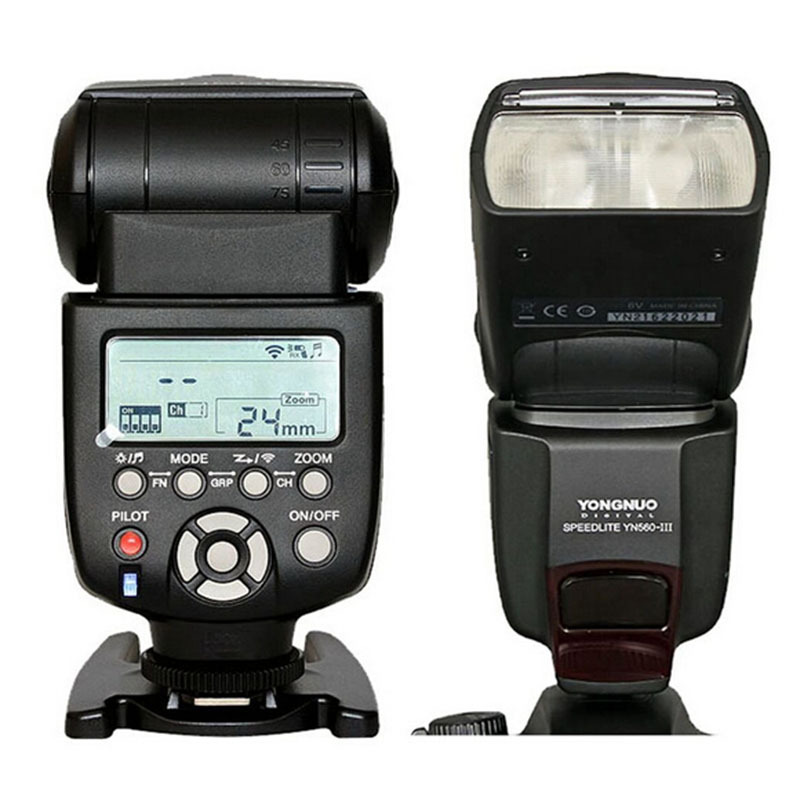 100% Band Yongnuo Professional Wireless Flash Speedlight Flashlight YN-560 III Speedlite for Canon Nikon Pentax Olympus Camera(China (Mainland))