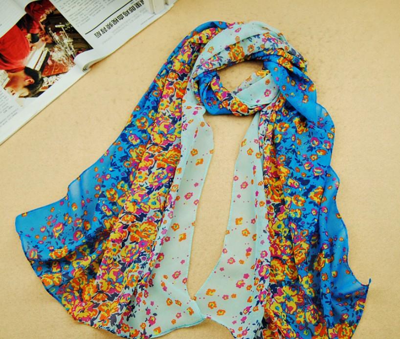 New Arrival 2016 Woman Clothing Crochet Flower Scarf Pashmina Clothing Chiffon Shawl Designer Infinity Foulard Warps(China (Mainland))