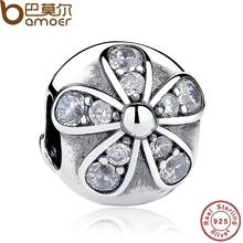 Buy 925 Sterling Silver Dazzling Daisy Charm Fit Bracelet & Necklace Sterling Silver Jewelry Accessories PAS188 for $8.07 in AliExpress store