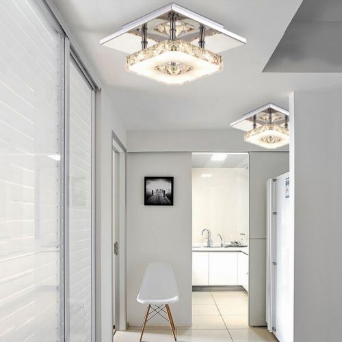 Modern Crystal LED Ceiling Pendant Lamp Stainless Steel Fixture Chandelier Light(China (Mainland))