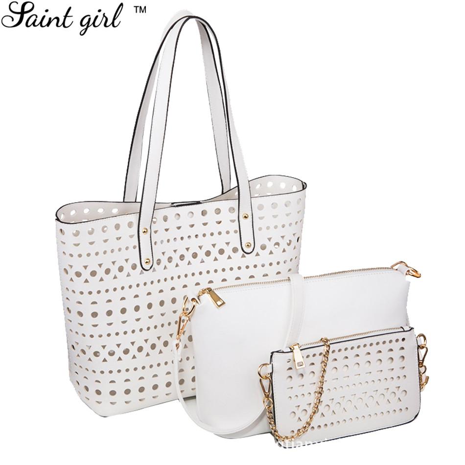 replica ysl bags - Aliexpress.com : Buy Saint Girl 3 Sets Women Bag PU Leather ...