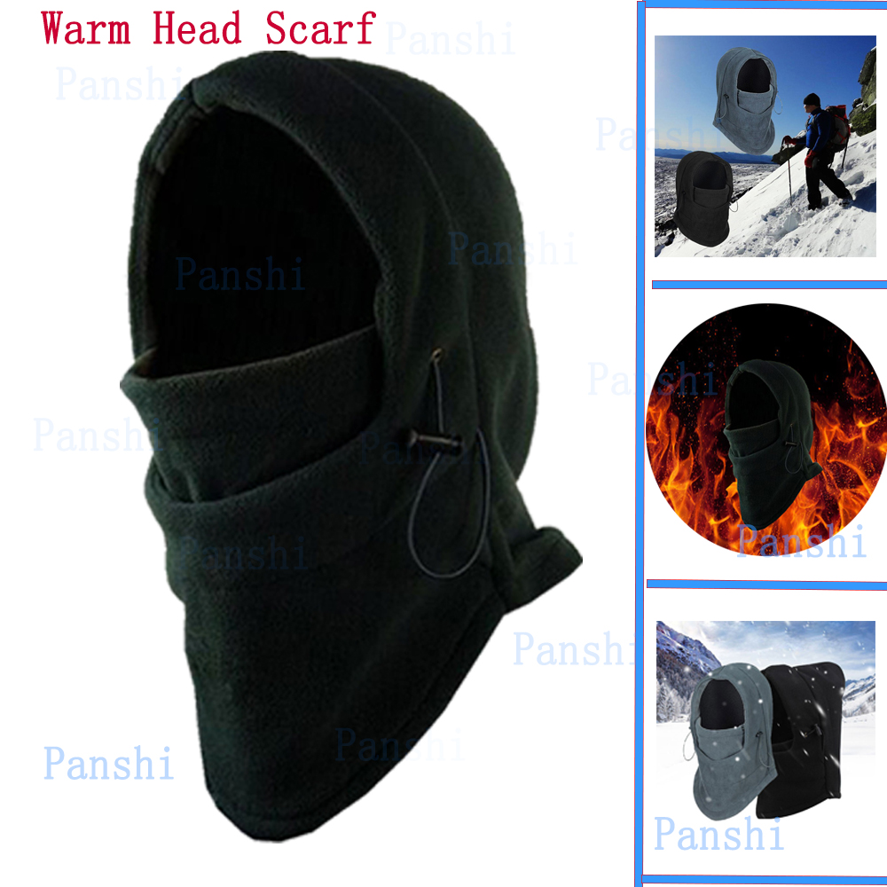 Winter Hat Scarf Men Windproof Thick Ski Mask Warm Cotton Head Scarves Fishing Cycling Headgear Outdoor Camping Hiking Equipment(China (Mainland))