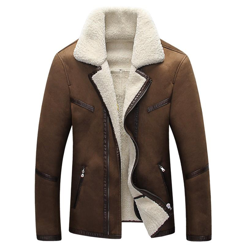 Online Get Cheap Sheepskin Coats for Men -Aliexpress.com   Alibaba
